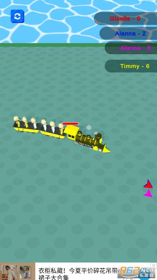 火车大作战游戏v0.1 (TrainWar.io)截图2