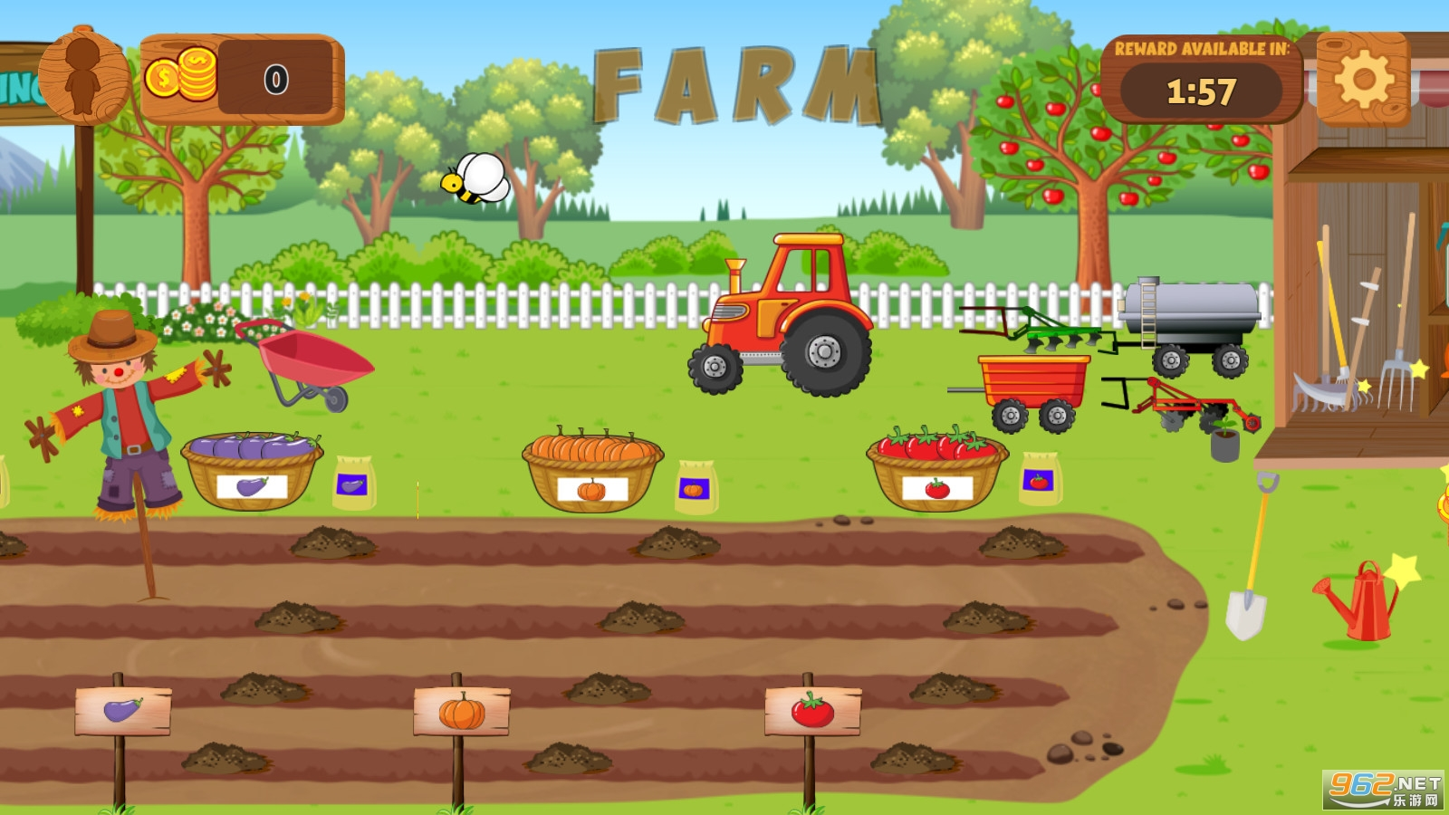 假装玩农业世界汉化版v1.1中文截图3