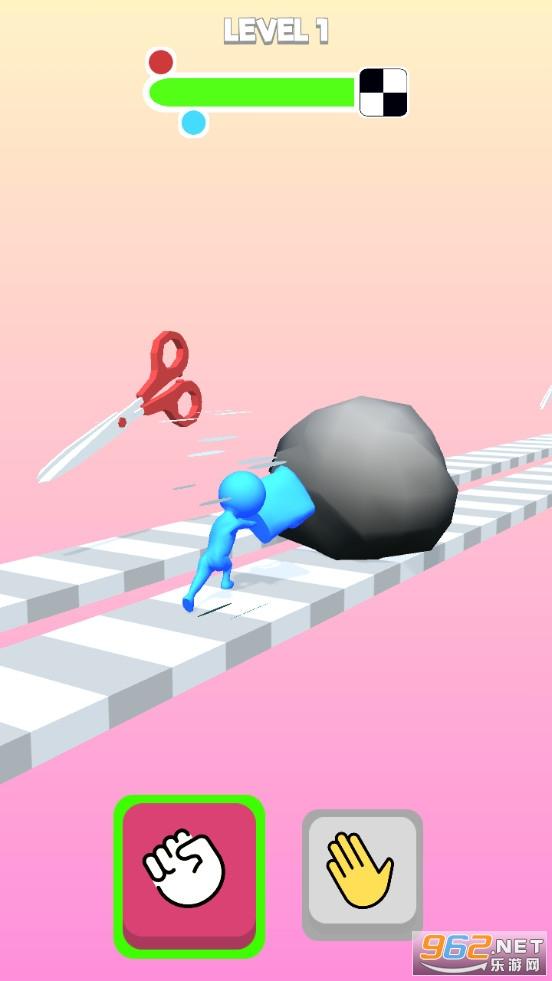 剪刀石头布3D游戏v0.1 (Rock Paper Scissors 3D)截图0