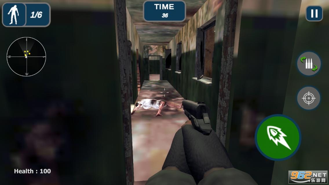 死亡丧尸战争突围游戏官方版v1.2截图2