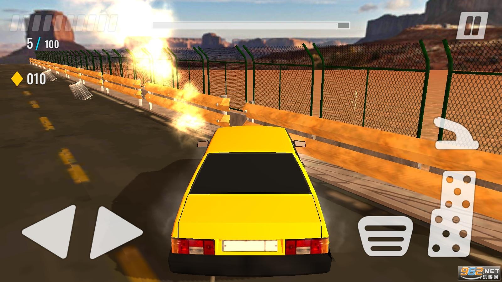汽车流氓极端特技赛车模拟器