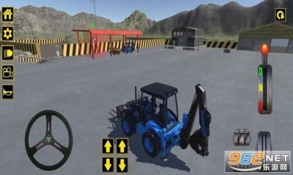 挖掘机与城市建设模拟手游