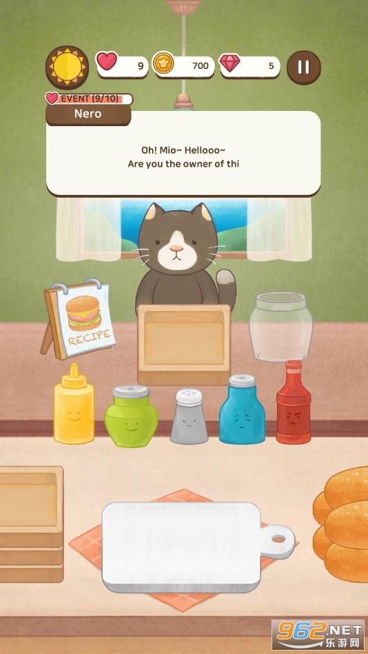 猫的三明治破解版v1.2.6 最新版截图2