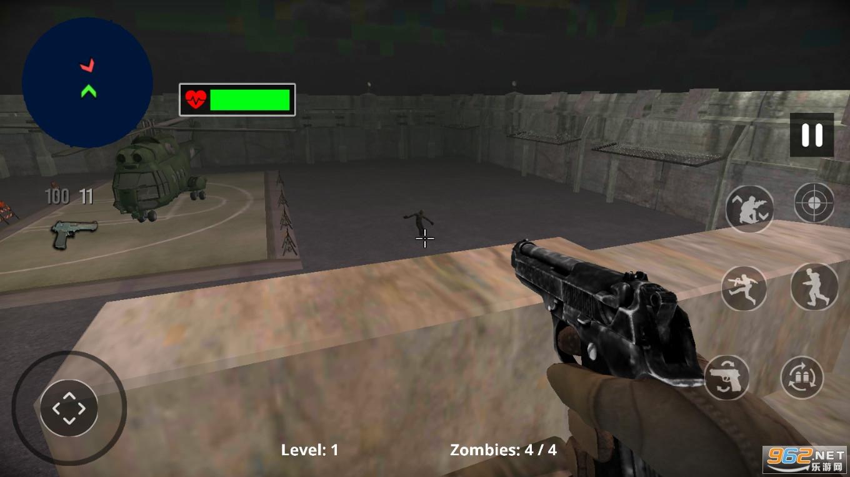 僵尸猎人死目标破解版v1.1最新版截图0