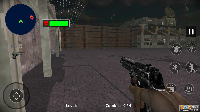 僵尸猎人死目标破解版v1.1最新版截图1