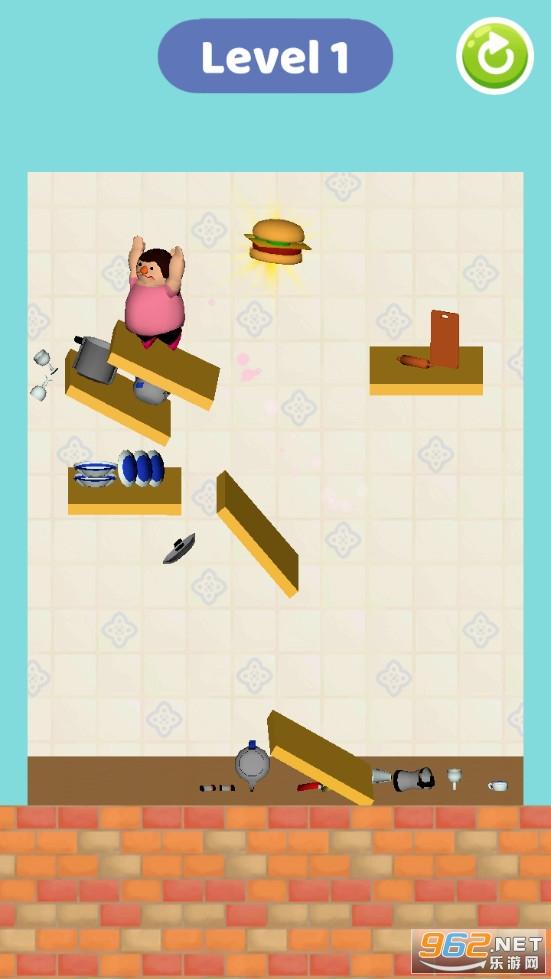弹跳胖子游戏v1.0.1 安卓版截图1