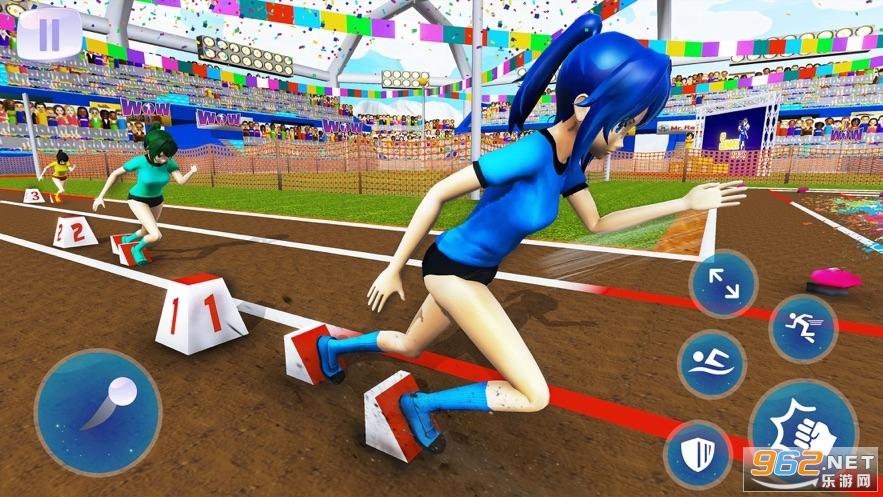 动漫高中暑期运动会游戏v1.0 免费版截图2