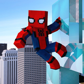 蜘蛛侠我的世界皮肤Spider Man Minecraft Skins