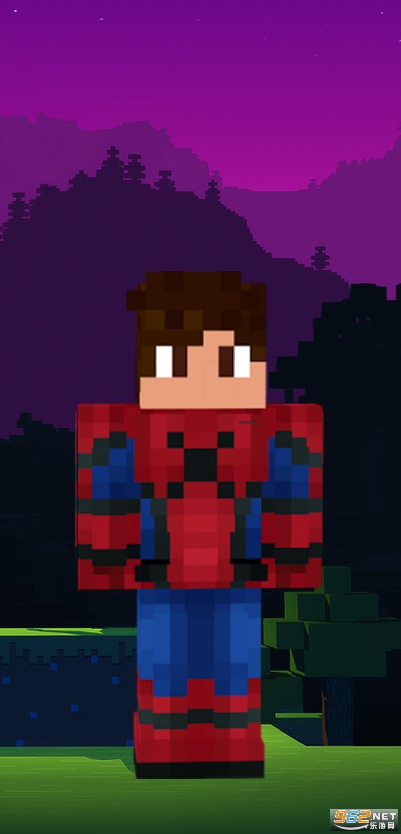 蜘蛛侠我的世界皮肤Spider Man Minecraft Skinsv1.0 安卓版截图2