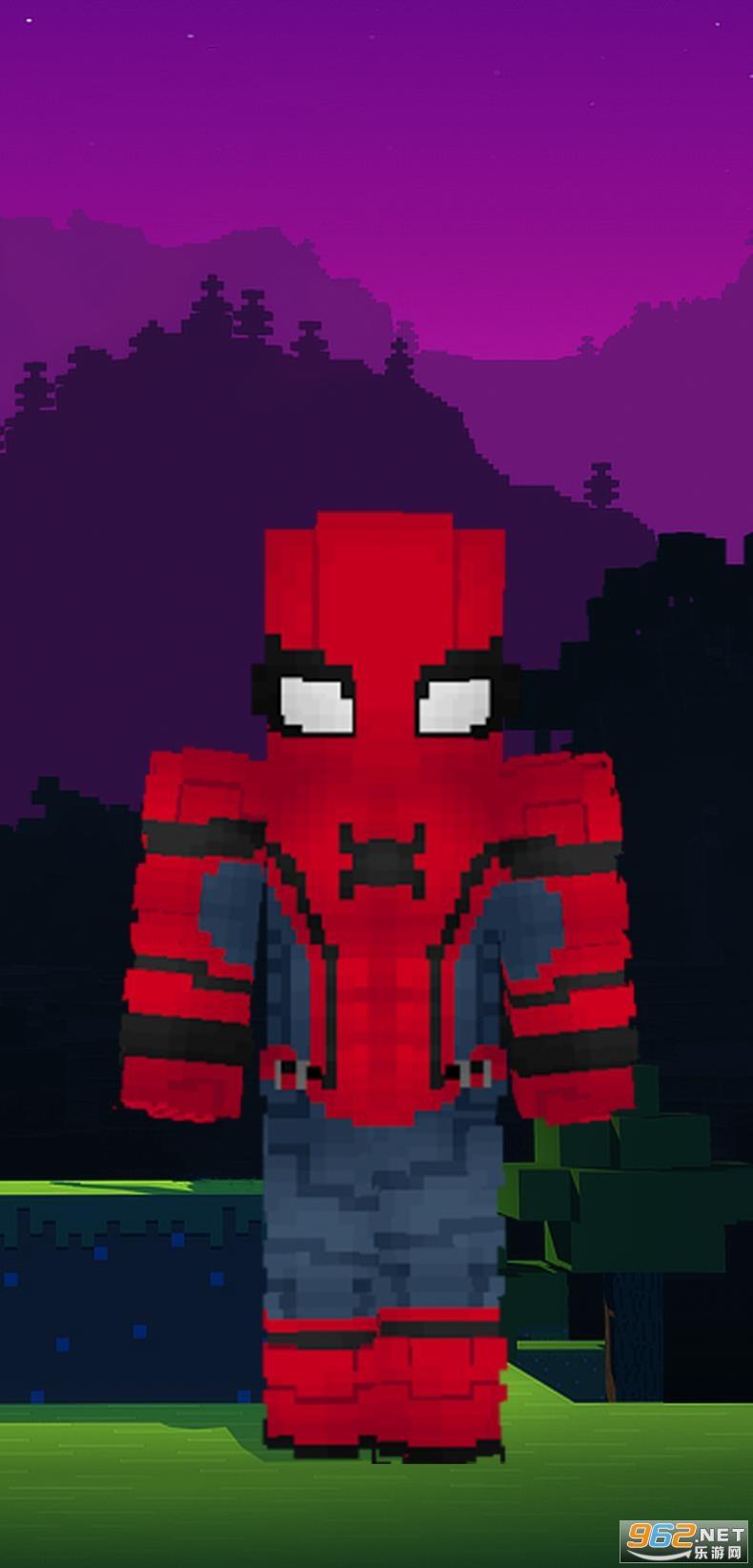 蜘蛛侠我的世界皮肤Spider Man Minecraft Skinsv1.0 安卓版截图1