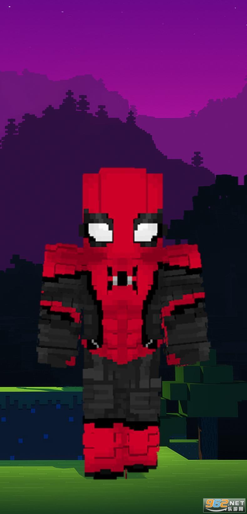 蜘蛛侠我的世界皮肤Spider Man Minecraft Skinsv1.0 安卓版截图0