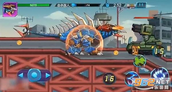 机甲怪兽进化游戏小游戏截图2