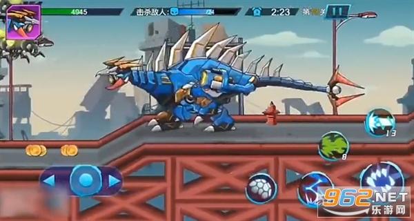 机甲怪兽进化游戏小游戏截图0