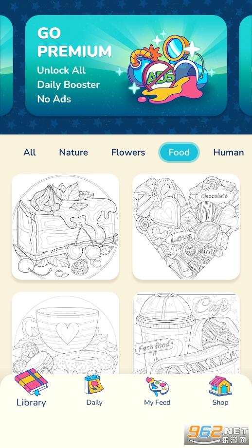 艺术游戏(数字填色游戏)v1.0.0 无广告截图2