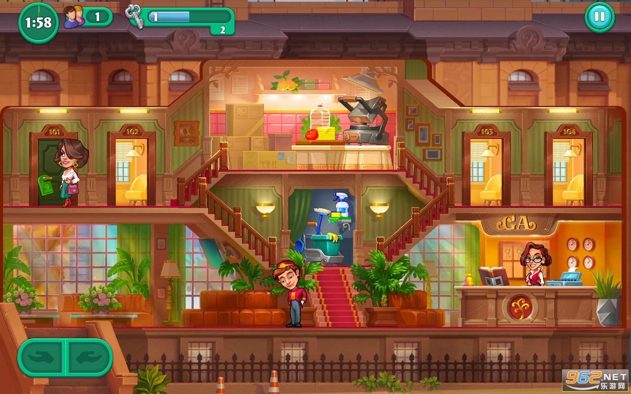 萌趣酒店游戏v1.0.0.1 安卓版截图1