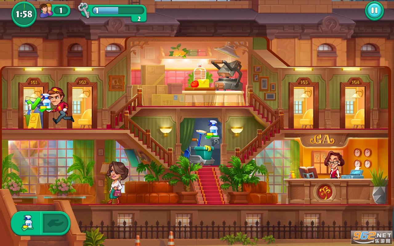 萌趣酒店游戏v1.0.0.1 安卓版截图0