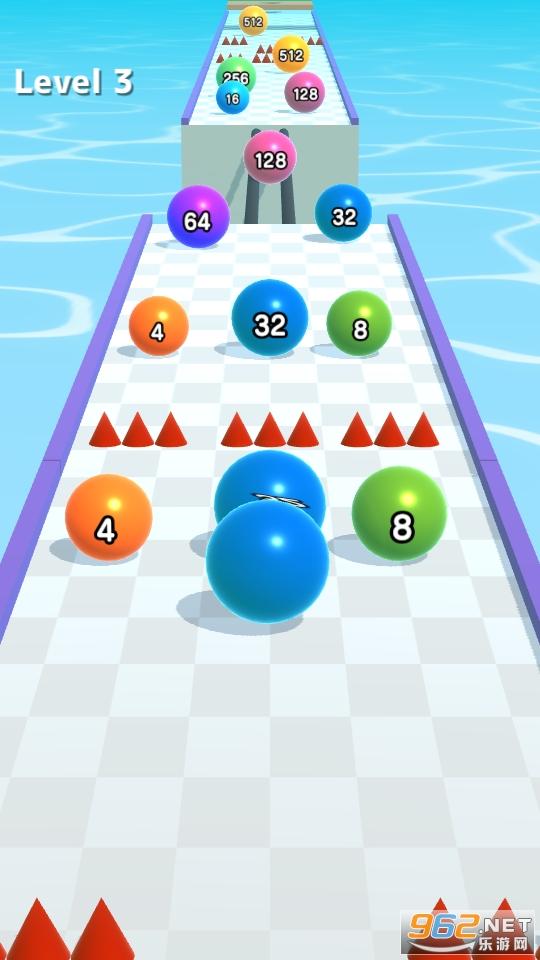 2048滚球球酷跑游戏v0.2.7 无广告截图4