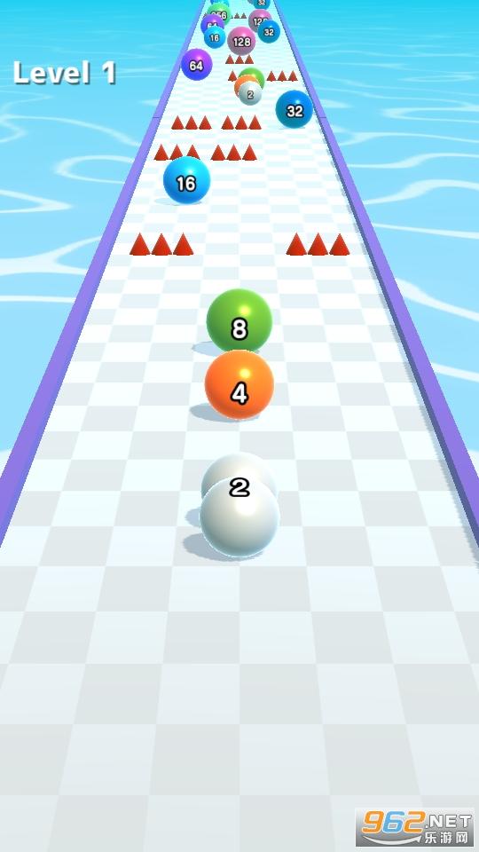 2048滚球球酷跑游戏v0.2.7 无广告截图3
