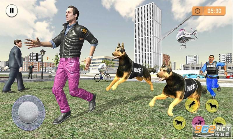 警犬罪犯追擊游戲