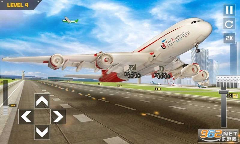 城市模擬飛行器手機游戲