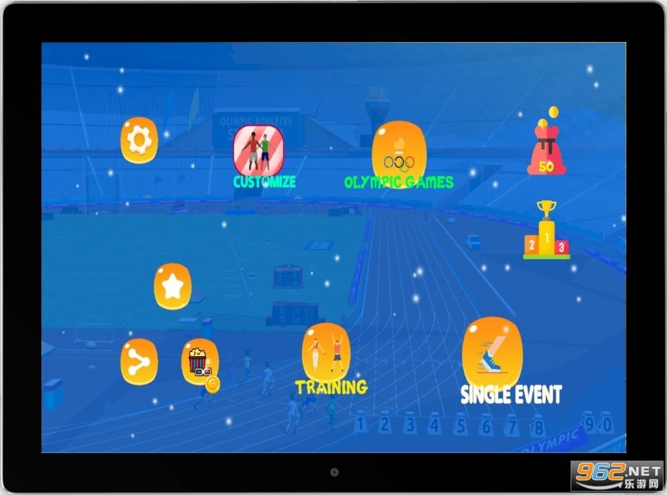 奥林匹克技能夏季运动会游戏v1.0 手机版截图0