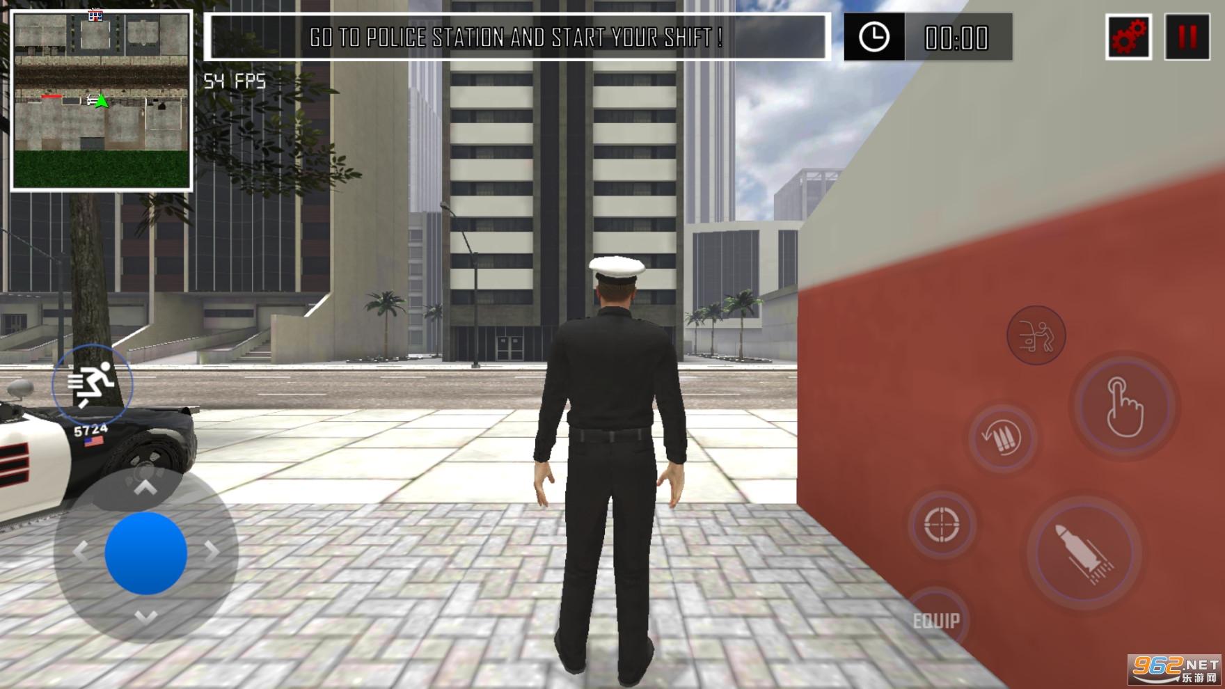巡�警察模�M器手�C版v1.3破解版截�D0