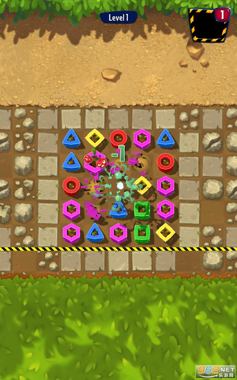 植物大战僵尸消消乐游戏v1.0.4 (Zombie Match)截图1