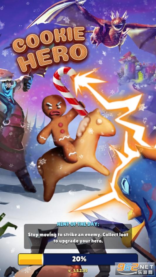 曲奇英雄游��v1.6.0 Gingerbread Hero截�D9