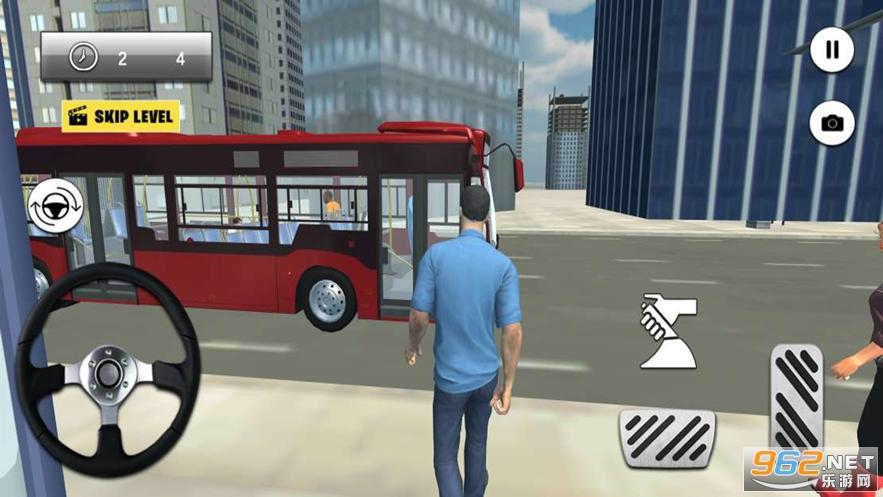 地�F巴士停�游��3D