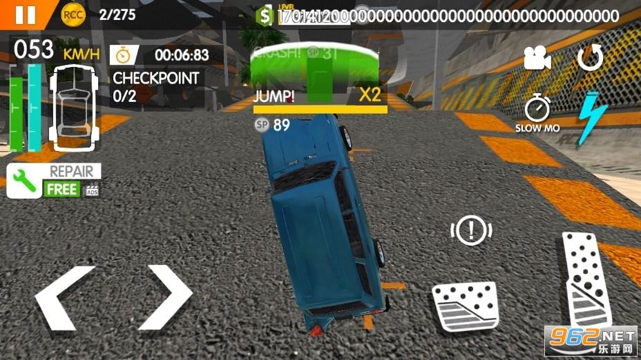 真正的车祸破解版v1.2.6 无限金币版截图1